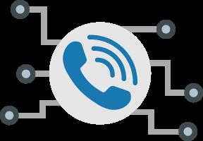 独自開発の通話接続サービス!!